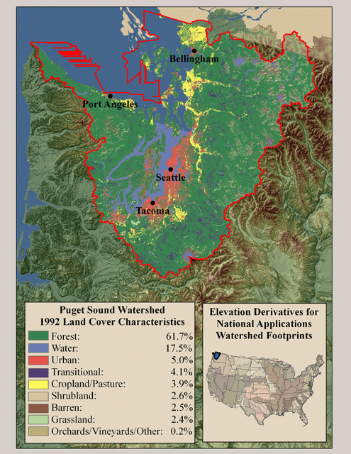 1992 Land Cover Characteristics